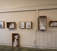 Nina Annabelle Märkl | Hautnah | Exhibition view | Schalterhalle Starnberg | photo: zeegaro