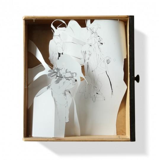 Nina Annabelle Märkl | o.T. | 40 x 50 x10 cm | 2010