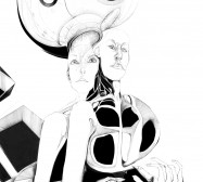 Nina Annabelle Märkl | Doppelgänger II | ink on paper cut outs black paper | 100 x 70 x 3,5 cm | 2013 |Detail