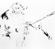 Nina Annabelle Märkl | Casting shadows III | ink pencil charcoal on paper | 110 x 160 cm | 2011