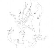 Nina Annabelle Märkl | Daphne | ink on paper | 29,7 x 21 cm | 2007