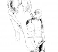 Nina Annabelle Märkl | Desert scape | ink on paper | 70 x 100 cm | 2011 | Detail
