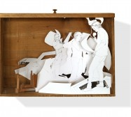 Nina Annabelle Märkl | Games | ink on paper cut outs drawer | 50 x 74 x 20 cm | 2010