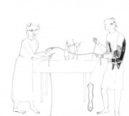Nina Annabelle Märkl   Games we play   ink on paper   25 x 21 cm   2010