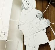 Nina Annabelle Märkl   In my mind II   ink on paper cut outs box   100 x 50 x 15 cm   2010   Detail