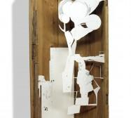 Nina Annabelle Märkl   In my mind II   ink on paper cut outs box   100 x 50 x 15 cm   2010