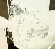Nina Annabelle Märkl   In my mind   ink on paper cut outs box   100 x 50 x 50 cm   2010   Detail