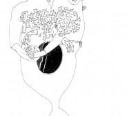 Nina Annabelle Märkl   Labyrinth   ink on paper   21 x 13 cm   2010