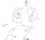 Nina Annabelle Märkl | Lose | ink on paper | 29,7 x 21 cm | 2007