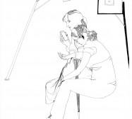 Nina Annabelle Märkl | Mermaids | ink on paper | 29,7 x 21 cm | 2009