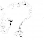 Nina Annabelle Märkl | Mindgames | ink on paper | 60 x 80 x 8 cm | 2009
