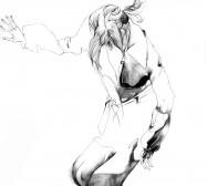 Nina Annabelle Märkl | Shadow II | ink on paper | 30 x 21 cm | 2011