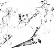 Nina Annabelle Märkl | Shadows | ink pencil on paper | 70 x 100 x 3,5 cm | 2013