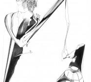 Nina Annabelle Märkl | Some more light I | ink on paper | 31,5 x 22,5 cm | 2012
