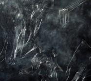 Nina Annabelle Märkl | Substance to shadows I | ink on paper metal | 60 x 120 cm | 2011 | Detail