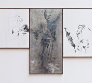 Nina Annabelle Märkl | Substance to shadows III | ink on paper metal print colour | 70 x 110 cm | 2011