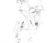 Nina Annabelle Märkl | Tanz | ink on paper | 30 x 21 cm | 2011