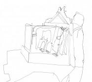 Nina Annabelle Märkl | Theater | ink on paper | 29,7 x 21 cm | 2007