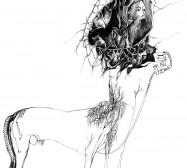 Nina Annabelle Märkl | Untitled | ink on paper | 38,5 x 33 cm | 2011