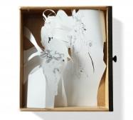 Nina Annabelle Märkl | Untitled | ink on paper cut outs box | 47 x 40 x 6 cm | 2010