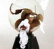 Nina Annabelle Märkl | Untitled | ink on paper mixed media | 25 x 20 x 20 cm | 2008
