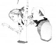 Nina Annabelle Märkl   Where are we now   ink on paper   52 x 72 cm   2010   Detail