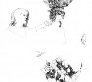 Nina Annabelle Märkl   Who we are III   ink on paper   30 x 21 cm   2010