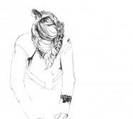 Nina Annabelle Märkl   Who we are IV   ink on paper   25 x 21 cm   2010