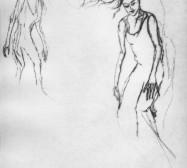 Nina Annabelle Märkl | Moshpit 1|11 | Kaltnadel, 300g Hahnemühle Büttenpapier | Platte 29,7 x 27 cm Papier 56 x 39 cm