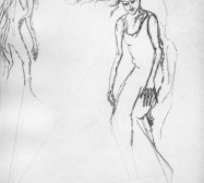 Nina Annabelle Märkl | Moshpit 4|11 | Kaltnadel, Tusche, Bleistift, 300g Hahnemühle Büttenpapier | Platte 29,7 x 27 cm Papier 56 x 39 cm