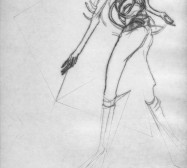 Nina Annabelle Märkl | One step inside 10|14 | Kaltnadel, Tusche, Bleistift, 300g Hahnemühle Büttenpapier | Platte 35 x 23 cm Papier 56 x 39 cm
