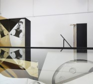 Nina Annabelle Märkl | Possible sculptures for a life somehow distracted | three sculptures, mixed media | Installation view studio | 2015