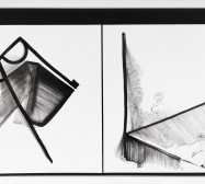 Nina Annabelle Märkl | Balancing the Whimsical VI | Ink and pencil on paper, black paper | 70 x 100 cm x 3,5 cm | 2015 | photo: Walter Bayer