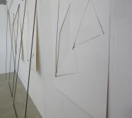Nina Annabelle Märkl | Fiction follows form | Ink on paper cut outs steel | Installation | size flexible | 2015