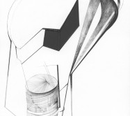 Nina Annabelle Märkl | Fragmented Fiction III | Ink on folded paper cut outs | 41 x 33 cm | 2015 | Detail