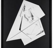 Nina Annabelle Märkl | Fragmented Fiction V | Ink on folded paper cut outs | 47 x 33 cm | 2015 | photo: Walter Bayer