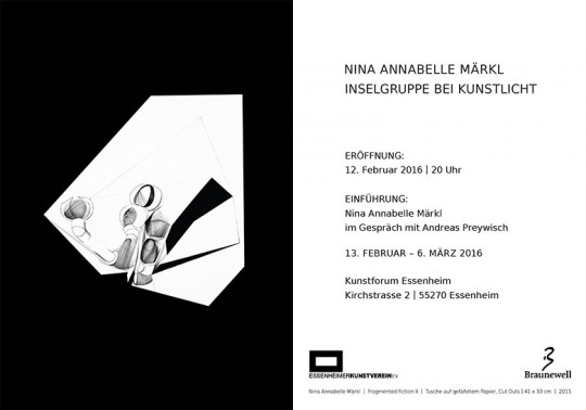 Nina Annabelle Märkl | Inselgruppe bei Kunstlicht | Kunstverein Essenheim