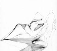 Nina Annabelle Märkl | Deconstruction of Possible Spaces | Ink on Paper | 35,5 x 27,5 cm | 2016