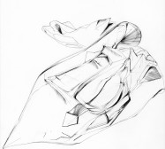 Nina Annabelle Märkl | Possible Spaces deconstructed | Ink on Paper | 35,5 x 27,5 cm | 2016