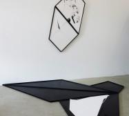Nina Annabelle Märkl | Shifting Perceptions | Installation | Wood, Ink on paper | 2016