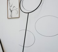 Nina Annabelle Märkl | Shifting Perceptions | Installation | Wood, Ink on paper, Steel | 2016