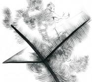 Nina Annabelle Märkl | Balancing the Whimsical 14 | Ink on paper | 60 x 48 cm | 2016