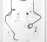Nina Annabelle Märkl | Display 1 | ink on paper | 270 x 135 cm | 2017/2018