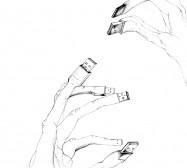 Nina Annabelle Märkl | Tools 3 | Tusche und Bleistift auf Papier | 29,7 x 21 cm | 2016
