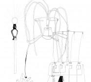 Nina Annabelle Märkl | Automat III | ink on paper | 29,7 x 21 cm | 2009