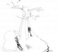 Nina Annabelle Märkl | Automat IV | ink on paper | 21 x 15 cm | 2009