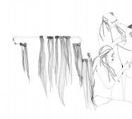 Nina Annabelle Märkl | Circen | ink on paper | 28 x 20 cm | 2009 |Detail