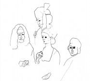 Nina Annabelle Märkl | Frames | ink on paper | 29,7 x 21 cm | 2007