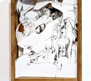Nina Annabelle Märkl | Landscapes | ink on paper cut outs wooden box | 40 x 29,8 x 12 cm | 2011