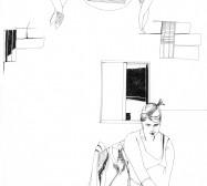 Nina Annabelle Märkl | Nympheum | ink on paper | 49,5 x 66,5 cm | 2009 | Detail